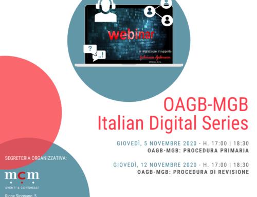 OAGB-MGB Italian Digital Series